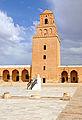 Grande Mosquée de Kairouan, vue du minaret depuis la cour.jpg