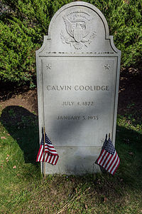 Grave of pres Calvin Coolidge.jpg