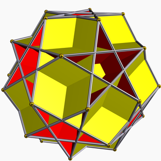 Dodecadodecahedron - Image: Great dodecahemicosahedron