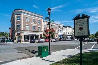 Greenwich, Connecticut - Municipal Center Historic District