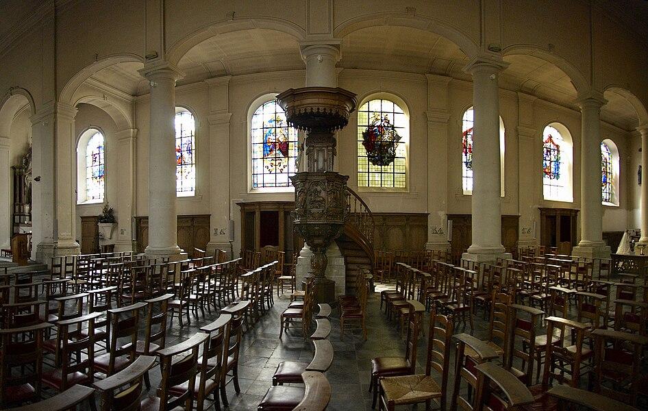 Saint Georges church of Grez-Doiceau, Belgium