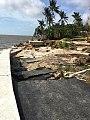 Grove Isle Sea Wall destruction from Hurricane Irma.jpg