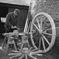 Gruffydd Williams, 71 years old, from Ty'n Coed, Bodffordd, Anglesey – a wheelwright by trade (8719666281).jpg