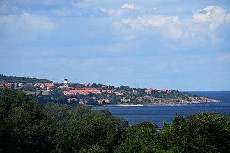 Gudhjem - Image: Gudhjem from east