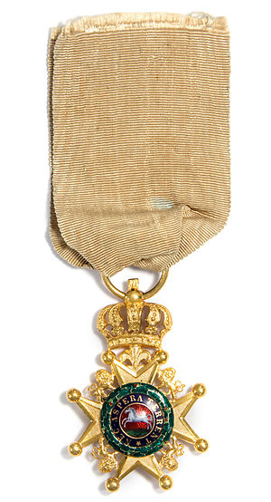 Royal Guelphic Order - Badge of the Royal Guelphic Order
