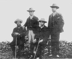 Gungunhana Godide Molungo and Zixaxa 1899