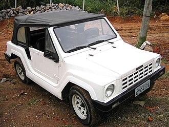 Gurgel - A Gurgel SUV