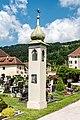 Gurk Domplatz 1 Friedhof Lichtsaeule SSO-Ansicht 13062017 9414.jpg
