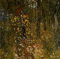 Gustav Klimt - Bauerngarten mit Kruzifix 1911-12.jpg