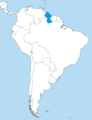Guyana in South America.png
