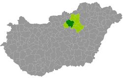 magyarország térkép gyöngyös Gyöngyös District   Wikipedia magyarország térkép gyöngyös