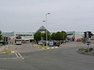The Gyle Shopping Centre - Image: Gyle Centre bus station, Edinburgh, 11 June 2013