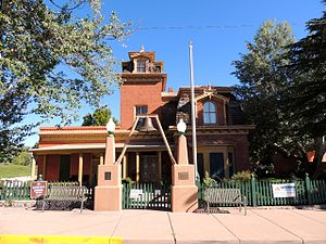 National Register of Historic Places listings in Grant County, New Mexico - Image: H.B. Ailman House 1