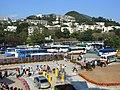 HK 海洋公園 Ocean Park bus 09 carpark view 壽臣山 Shouson Hill April-2012.JPG