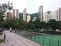 HK 銅鑼灣 Causeway Bay 中央圖書館 HKCL terrace view 大坑 Tai Hang 住宅 residential building facades October 2016 Lnv 03.jpg