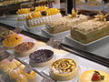 HK Cheung Sha Wan 幸福商場 Fortune Estate mall Bakery cakes Display.JPG