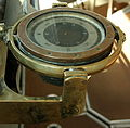 HMS Belfast - Admiral's bridge compass 1.jpg
