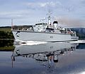 HMS Brocklesby sails from HMNB Clyde for the final time. MOD 45146488.jpg