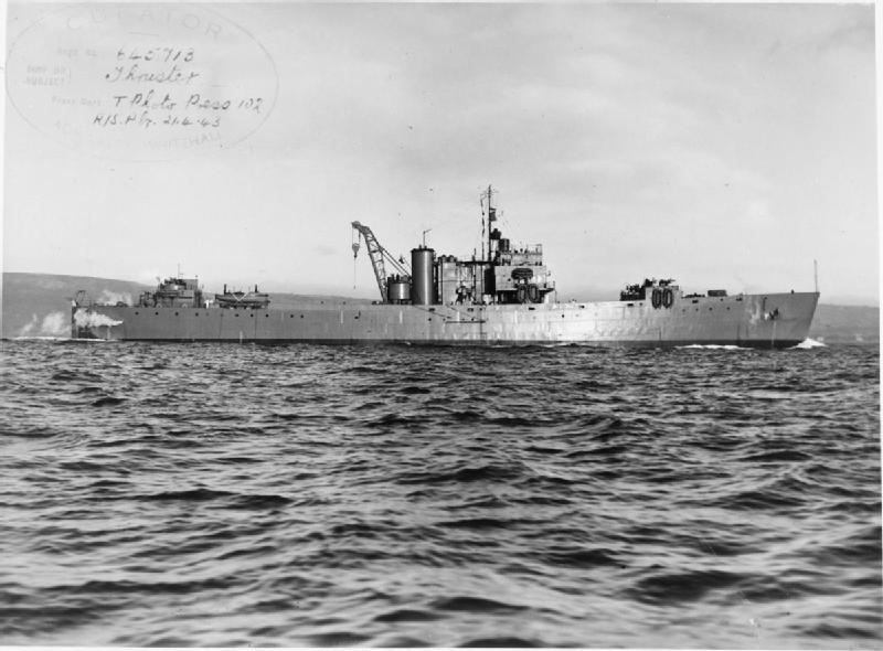 HMS Thruster FL9083