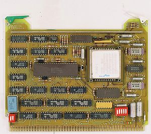 HP 9000 - Magnetic bubble memory board from early HP 9000/200 series computer
