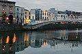 Ha'penny Bridge, Wellington Quay & River Liffey, Dublin (507187) (32769173151).jpg