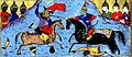 Habib Allah ibn 'Ali ibn Husam - Alexander the Great Kills an Ethiopian Warrior - Walters W608241A - miniature.jpg
