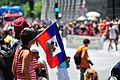 Haiti flag - Carifiesta July 2011.jpg