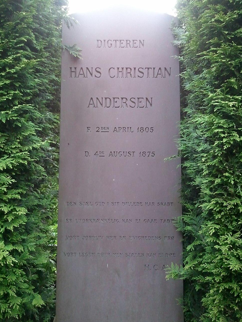 Hans Christian Andersen Grave