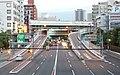 Hanshin Expressway Nagara ramp in 201609 01.jpg