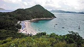 Hap Mun Bay Beach Beach in Sharp Island, New Territories, Hong Kong