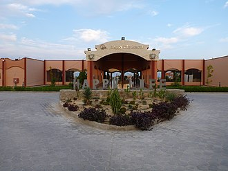 Resort - Entrance of an all-inclusive resort in Egypt