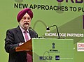 Hardeep Singh Puri addressing at the South Asia Regional Conference on Urban Infrastructure, organised by the NITI Aayog in association with ADB & UNESCAP, in New Delhi.JPG