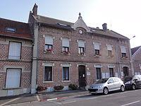 Harly (Aisne) mairie.JPG