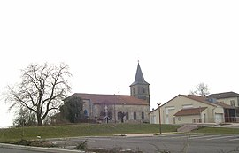 Church of Saint-Epvre and school