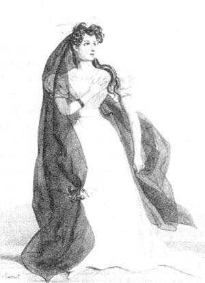 Hamlet (opera) - Harriet Smithson as Ophelia (1827)