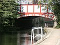 Harrow Road bridge crosses the Paddington Arm of the Grand Union Canal.jpg