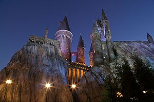 Universal Creative - Exterior Facade of Harry Potter and the Forbidden Journey