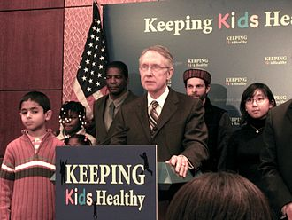Harry Reid - Reid speaking at the State Children's Health Insurance Program Art Exhibit press conference