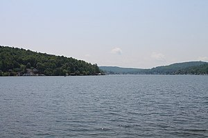 Harveys Lake (Pennsylvania) - Harveys Lake from the north