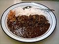 Hashed beef Rice (matsuya).jpg