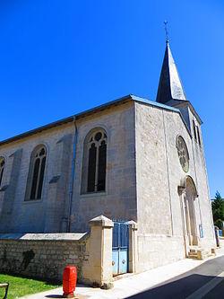 Haudainville L'église Saint-Symphorien.JPG