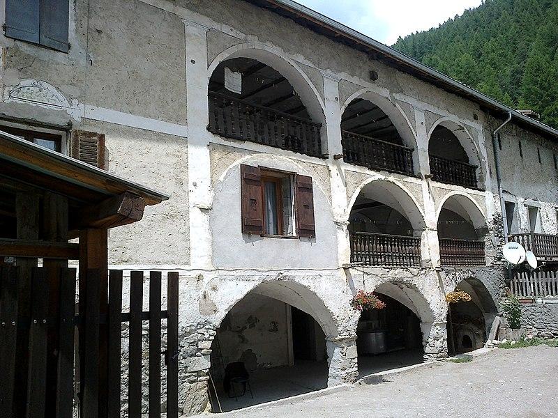 Hautes Alpes Arvieux Maison 14072013