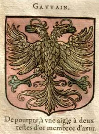 "Gawain - ""Gauvain's"" coat of arms"