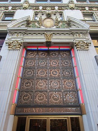 Kirby, Petit & Green - Hearst Building, San Francisco, 1908.