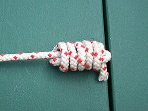 Monkey's fist - heaving line knot, light version