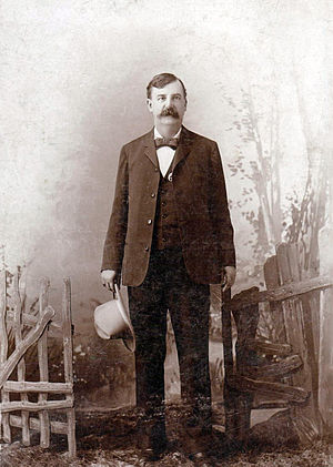 Heck Thomas - Image: Heck Thomas c 1900