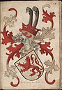 Heer van Bredero - Heer van Brederode - Lord of Bredero - Wapenboek Nassau-Vianden - KB 1900 A 016, folium 14r.jpg