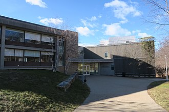 Heller School for Social Policy and Management - Image: Heller School for Social Policy and Management, January 2017, Brandeis University, Waltham MA