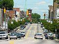 Henderson NC Central Business Historic District Garnett Street looking north.JPG