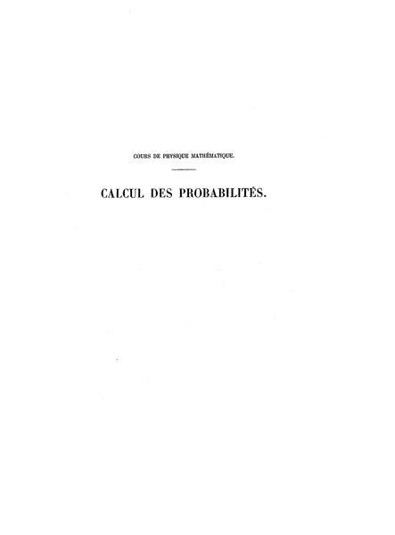 File:Henri Poincaré - Calcul des probabilités, 1912.djvu